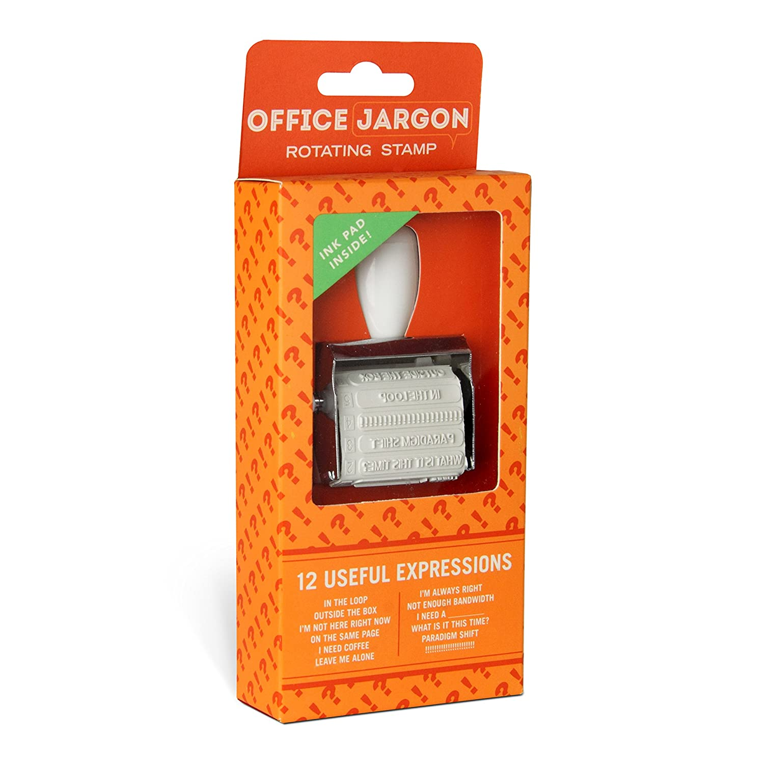 Knock Knock Rotating Office Jargon Stamp (10023) Knock Knock (Office Products)