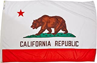 product image for Annin Flagmakers Model 140470 California State Flag 4x6 ft. Nylon SolarGuard Nyl-Glo 100% Made in USA to Official State Design Specifications.