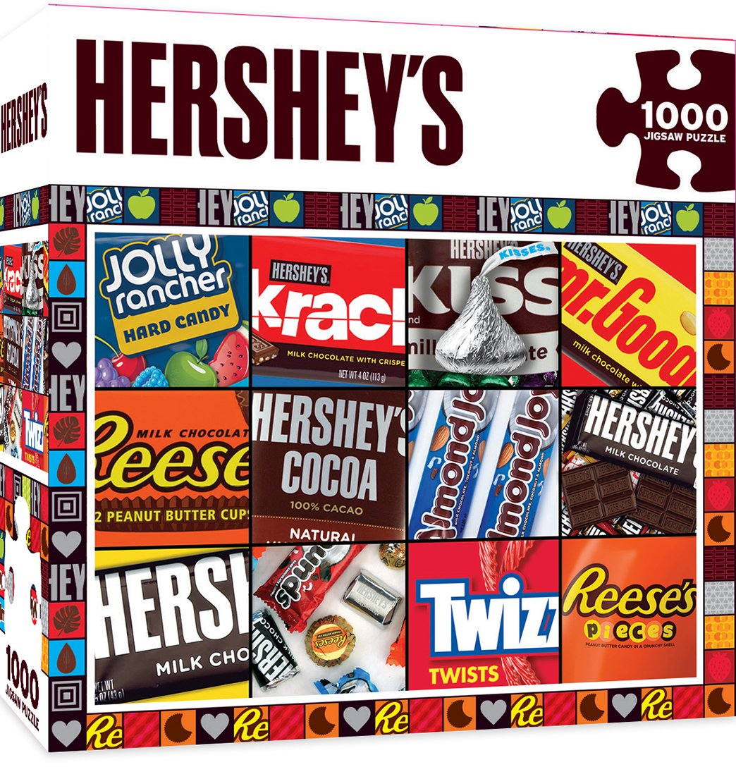 Masterpieces Hershey 's Moments Standard Puzzle (1 Stück) Puzzle