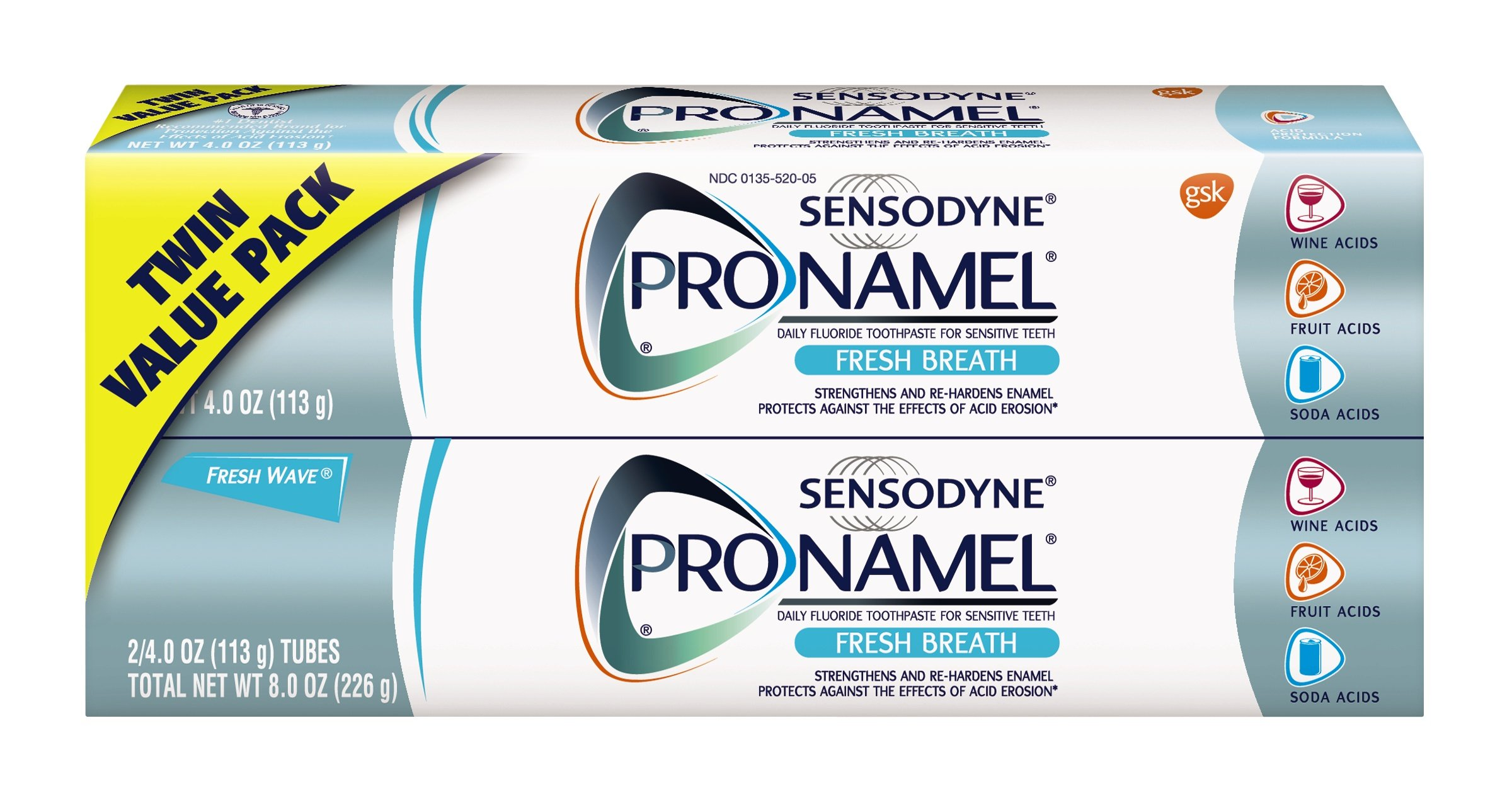 Sensodyne ProNamel Fresh Breath Toothpaste