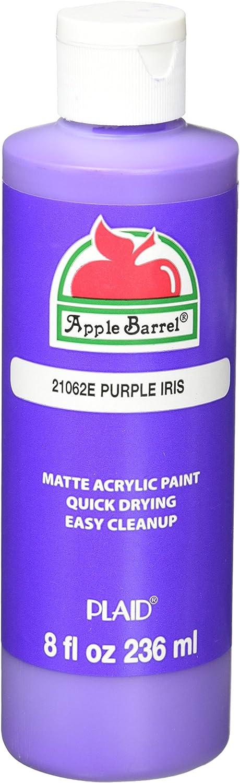 Apple Barrel Acrylic Paint in Assorted Colors (8 Ounce), Purple Iris
