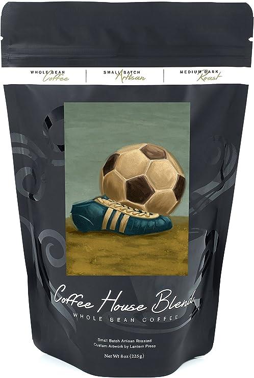 Balón de fútbol y Cleat – Pintura al óleo: Amazon.es: Alimentación ...