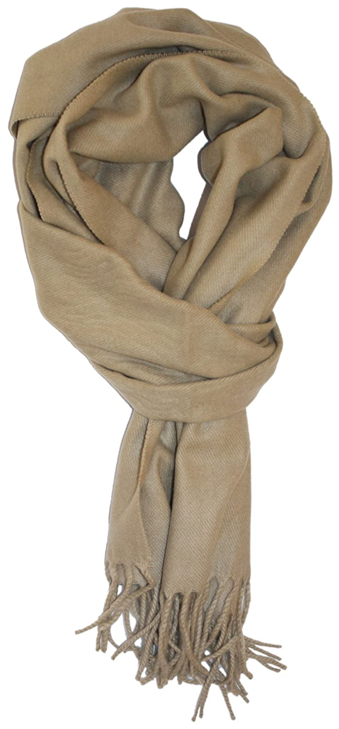 LibbySue--Solid Color Cashmere Feel Winter Scarf
