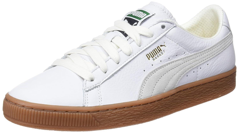 TALLA 45 EU. Puma Basket Classic Gum Deluxe, Zapatillas Unisex Adulto