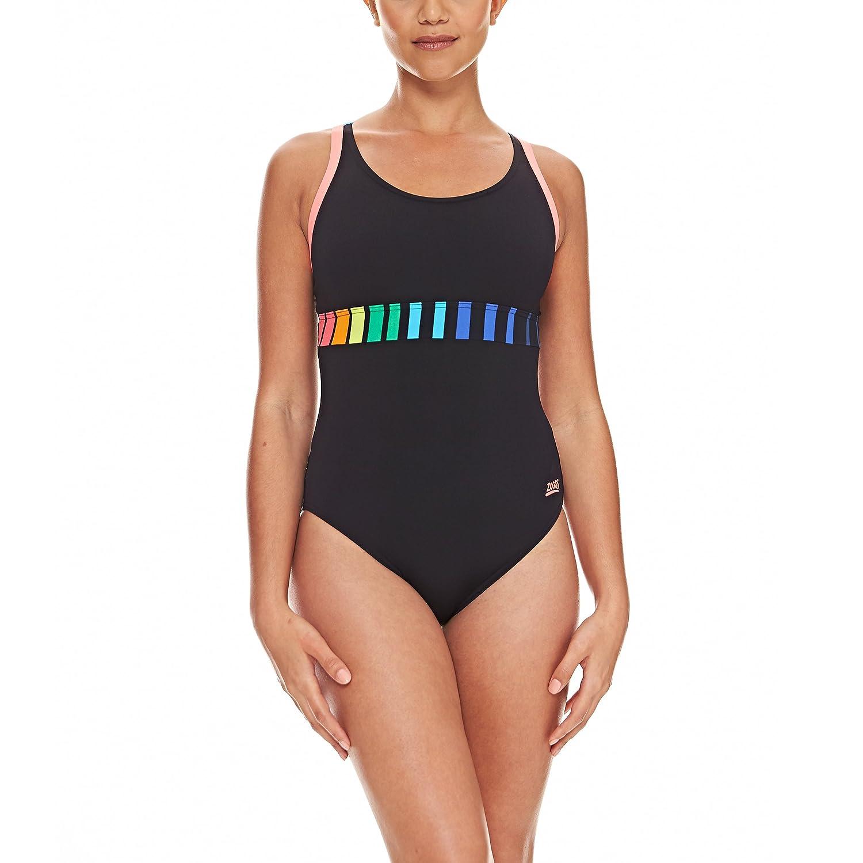 Zoggs Damen Apex laserback Schwimmen Anzug