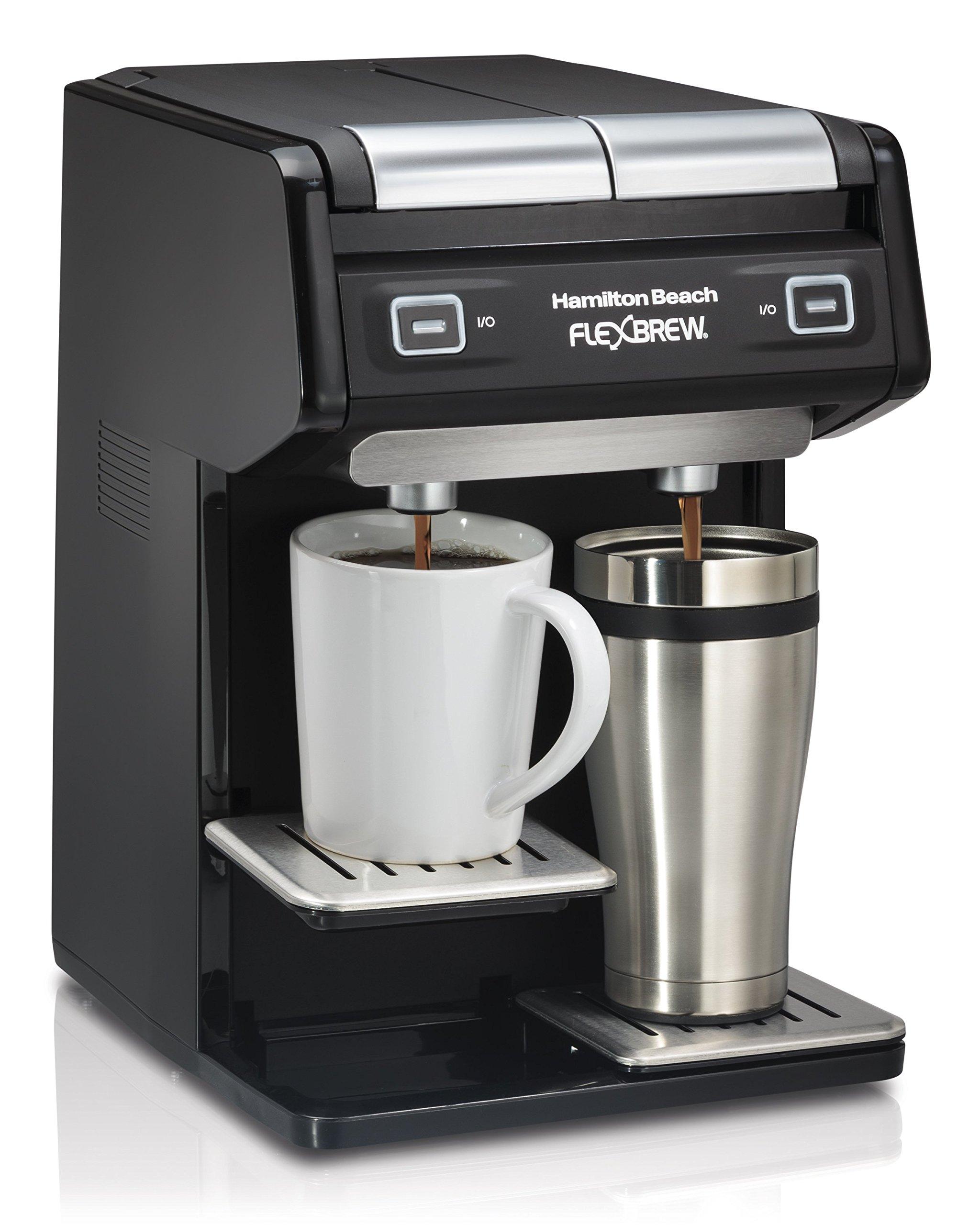Hamilton Beach 49998 FlexBrew Dual Single Serve Coffee Maker, Black by Hamilton Beach (Image #2)