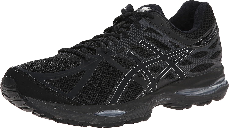 dentro de poco tema Animado  Amazon.com   ASICS Men's Gel Cumulus 17 Running Shoe, Black/Silver/Onyx,  7.5 M US   Road Running