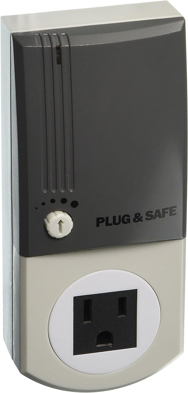 Plug & Safe PS8 Home Security System, Grey