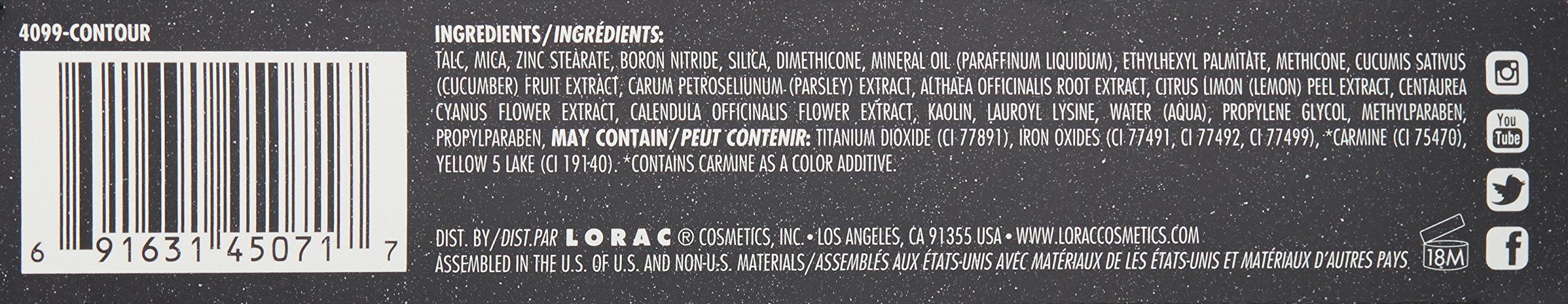 LORAC Pro Contour Palette Plus Contour Brush by LORAC (Image #4)
