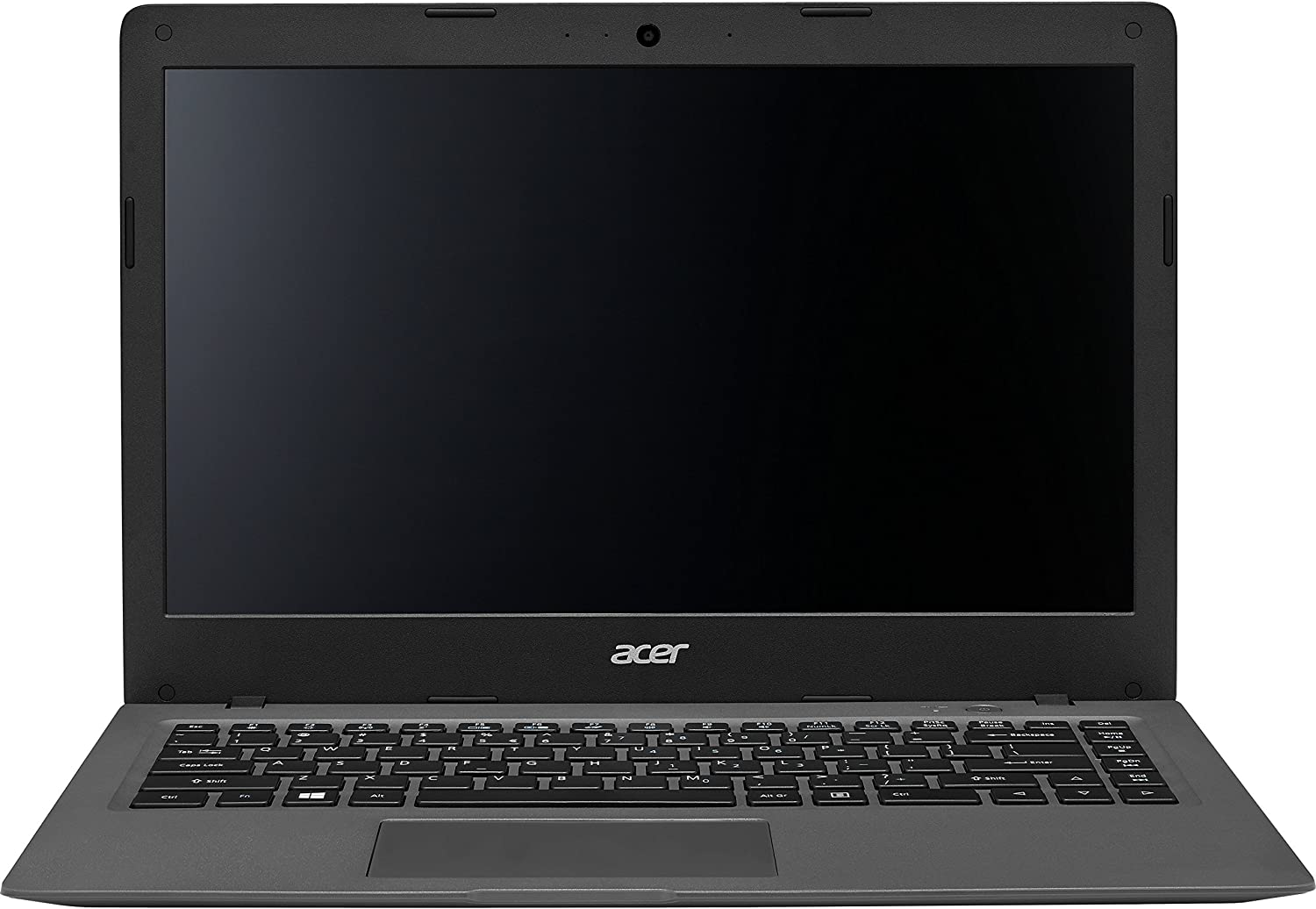 "Acer Aspire One 14"" Cloudbook AO1-431-C8G8 Laptop PC with Intel Celeron N3050, 2GB Memory, 32GB eMMC, Windows 10 and Office 365 Personal Mineral Gray"