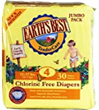 Earth's Best Diapers - Size 4 - 30 ct