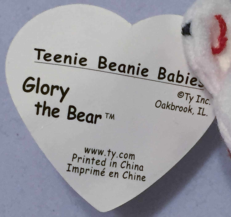 Amazon.com  TY McDonald s Teenie Beanie - GLORY the Bear (1999) (5 inch)   Toys   Games 0f124151c637