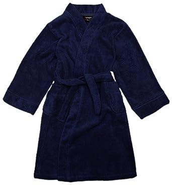 Sovereign Sleepwear Teen Cotton Terry Boy\'s Dressing Gown Navy 12 ...