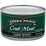 Crown Prince Lump White Crab Meat, 13-Ounce Cans (Pack of 12)