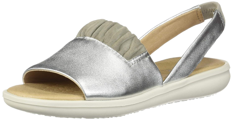 Silver Grey Geox Women's Jearl A Sandal