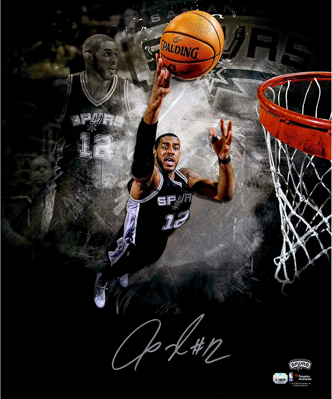 e86ea5465 LaMarcus Aldridge San Antonio Spurs Autographed 20
