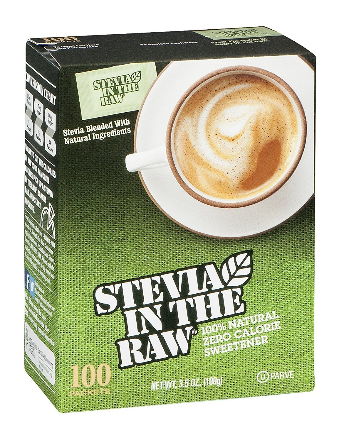 Is stevia in the raw real stevia