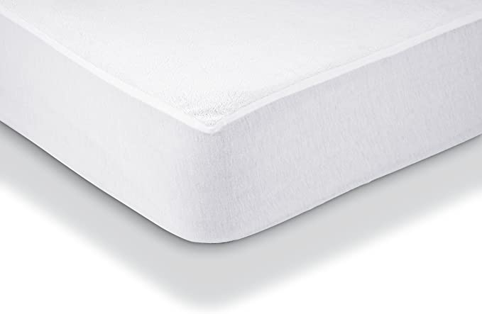 WATERPROOF PU LAYER TERRY TOWEL 180 GSM MATTRESS PROTECTOR FITTED SHEET COVER