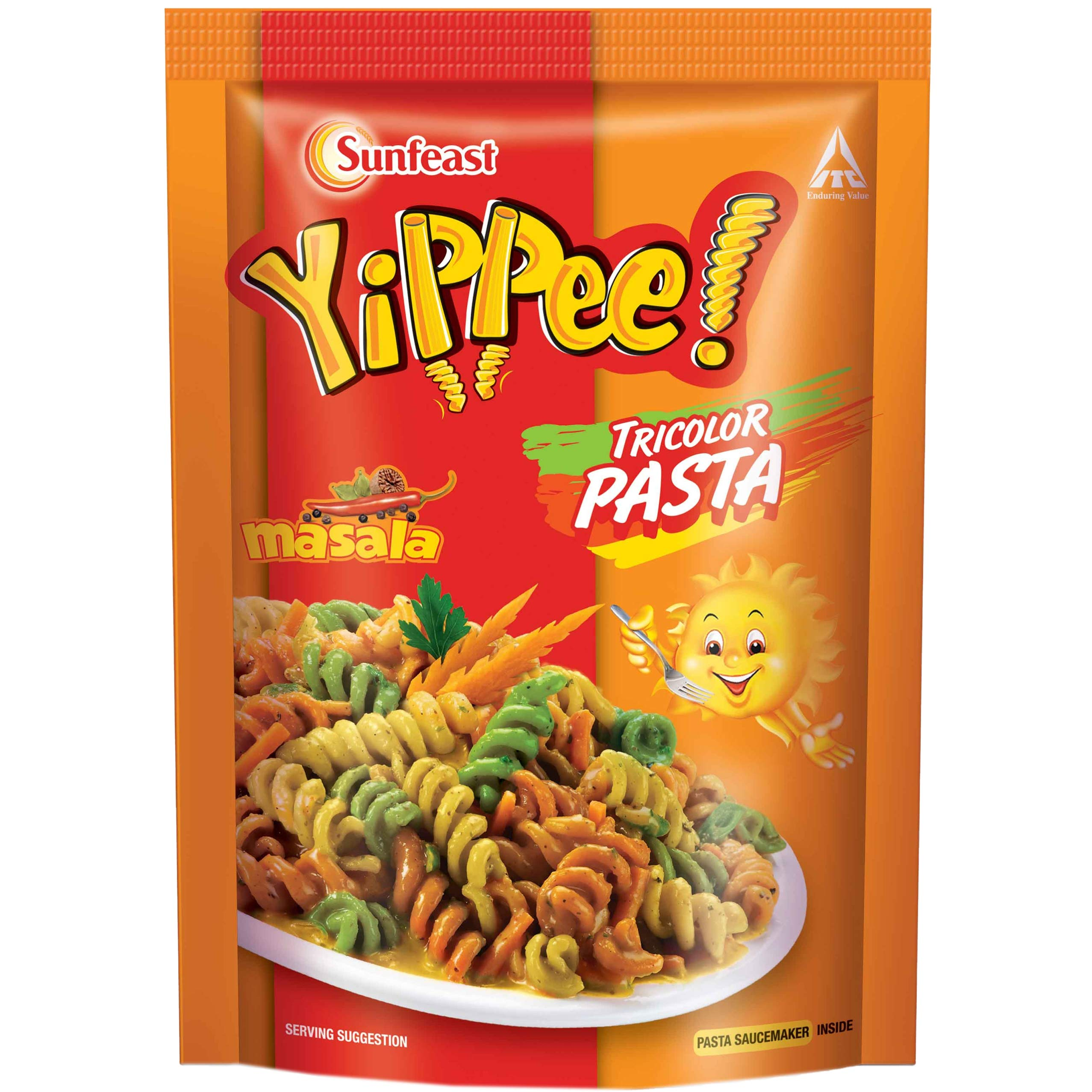 Sunfeast YiPPee! Tricolor Pasta | Masala |65g Pack