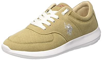 Tiziano Smart, Baskets Homme, Beige (Taupe Tau), 40 EUU.S.Polo Association