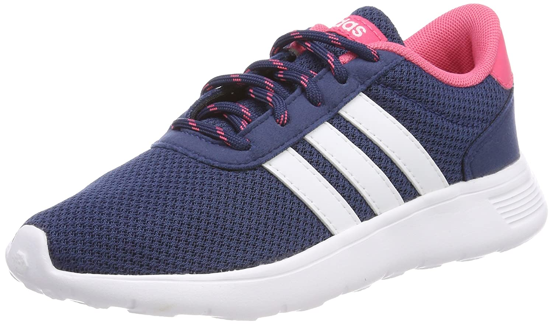 adidas Unisex-Erwachsene Lite Racer Sneaker  38 2/3 EU|Blau (Azumis/Ftwbla/Supros 000)