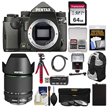 Tripod BackPack and More Accessories for for Pentax K70 K1 KP and All Pentax D-SLR Cameras