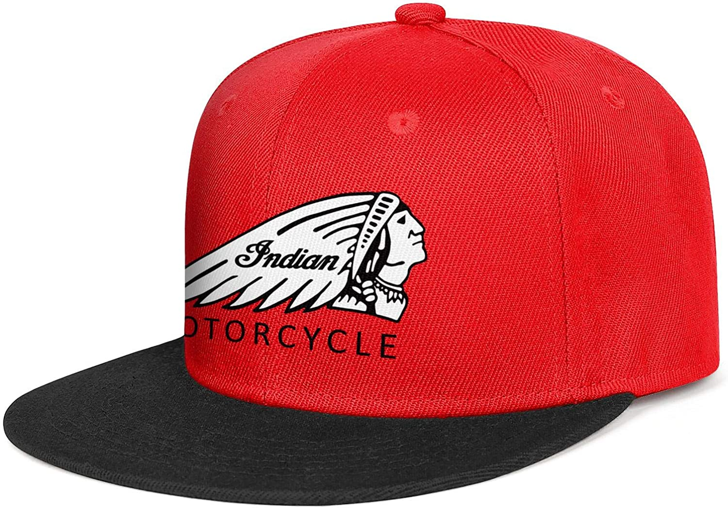 coolgood Cotton Baseball Caps Indian-Motorcycles-logp Snapback Casual Hat