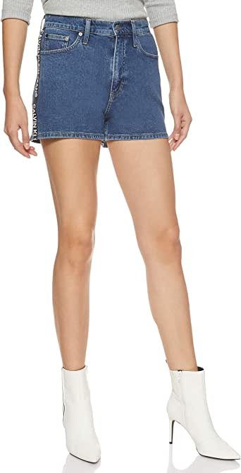 Calvin Klein Jeans Women's High Rise Shorts