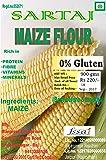 Sartaj Guten Free Maize / Corn Flour (Makki Atta), 900gms