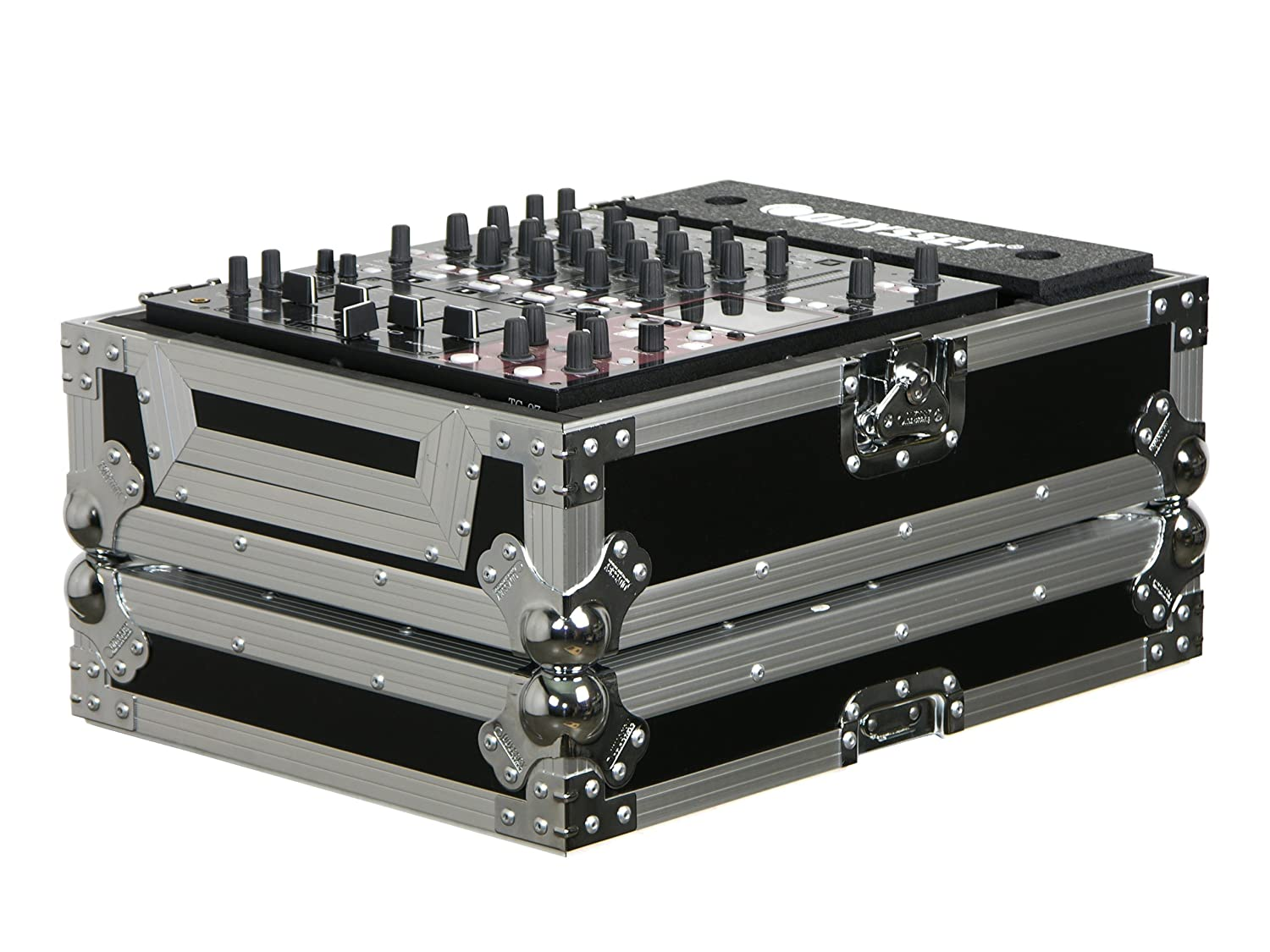 Odyssey FZ12MIX Flight Zone Single Dj Mixer Ata Case: Holds Most 12 Dj Mixers Odyssey Innovative Designs
