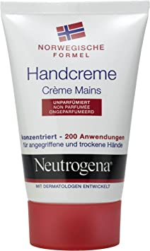 5 Pack Neutrogena Crema de manos de viaje unparfümiert 5 x 50 ml: Amazon.es: Salud y cuidado personal