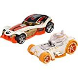 Hot Wheels Star Wars Character Car BB-8 & Poe Dameron (2 Pack)
