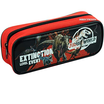 Amazon.com: Jurassic World Red Pencil Case: Arts, Crafts ...