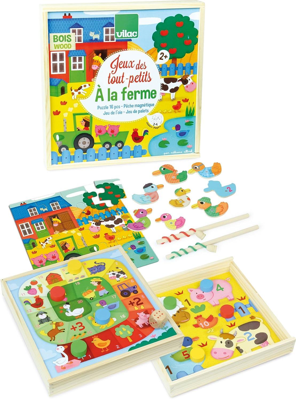 Vilac - Los niños en la Granja (6223): Amazon.es: Juguetes y juegos
