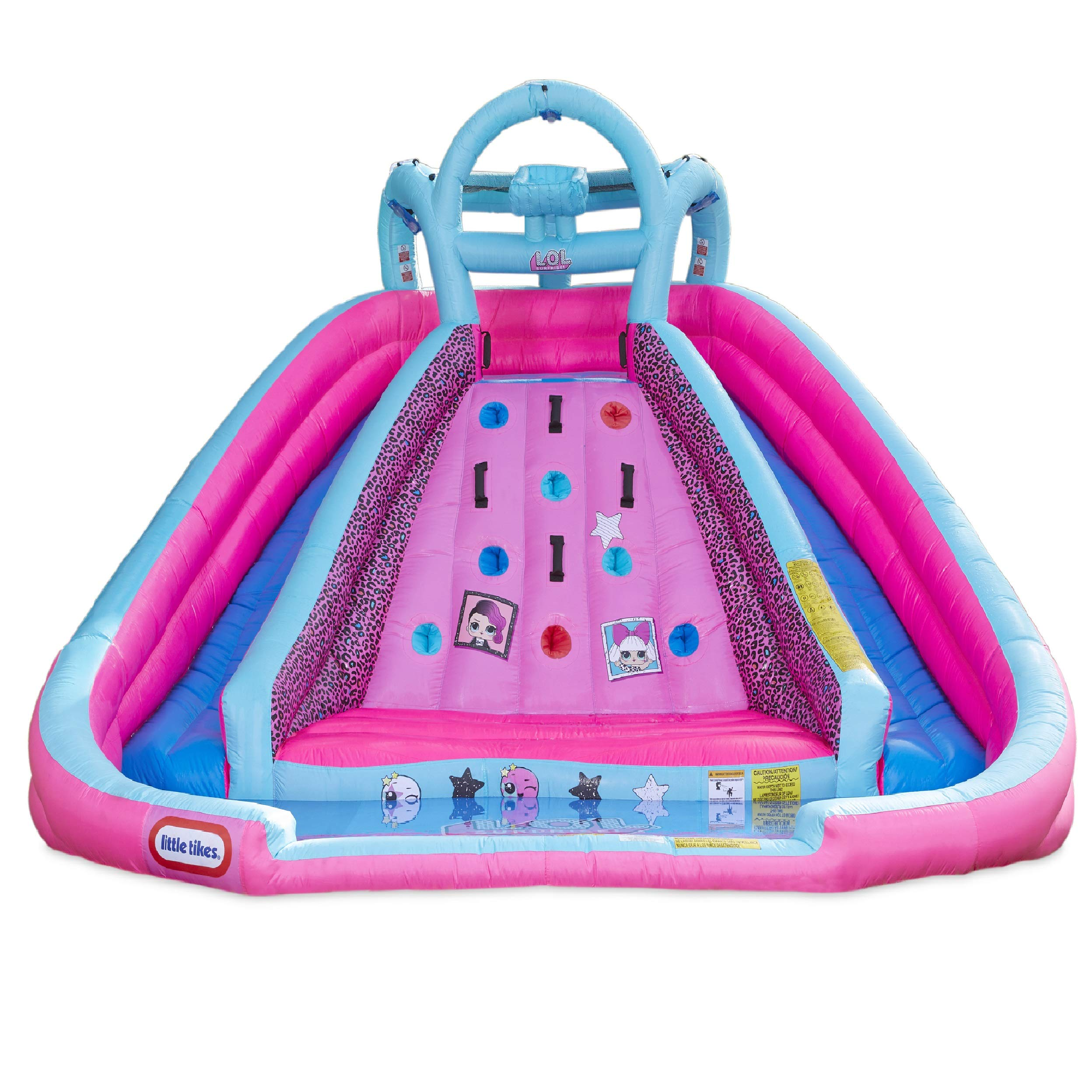 L.O.L. Surprise Inflatable River Race Water Slide with Blower by Little Tikes (Image #1)