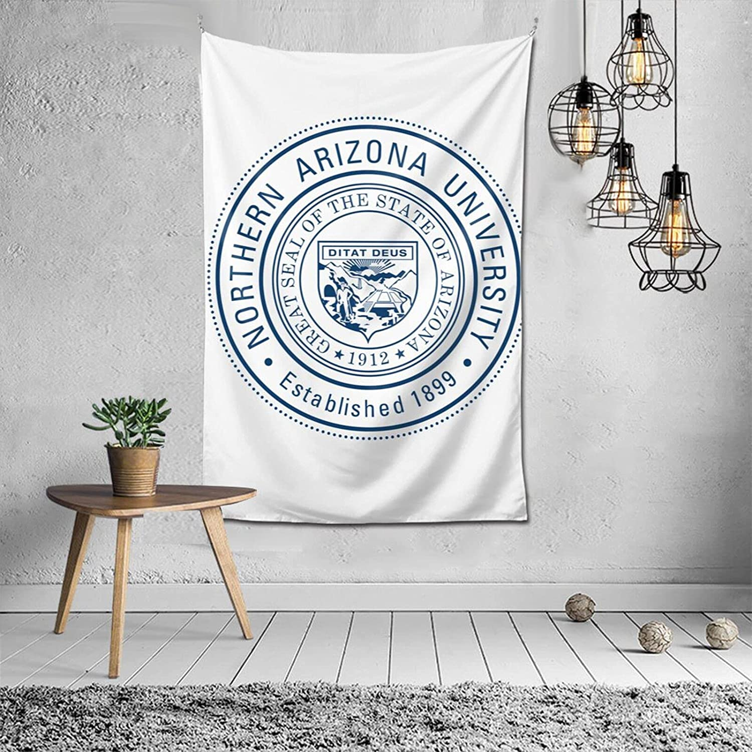 Wall Tapestry for Bedroom, Living Room, Dorm Home Northern Arizona University Wall Decor,6040inch