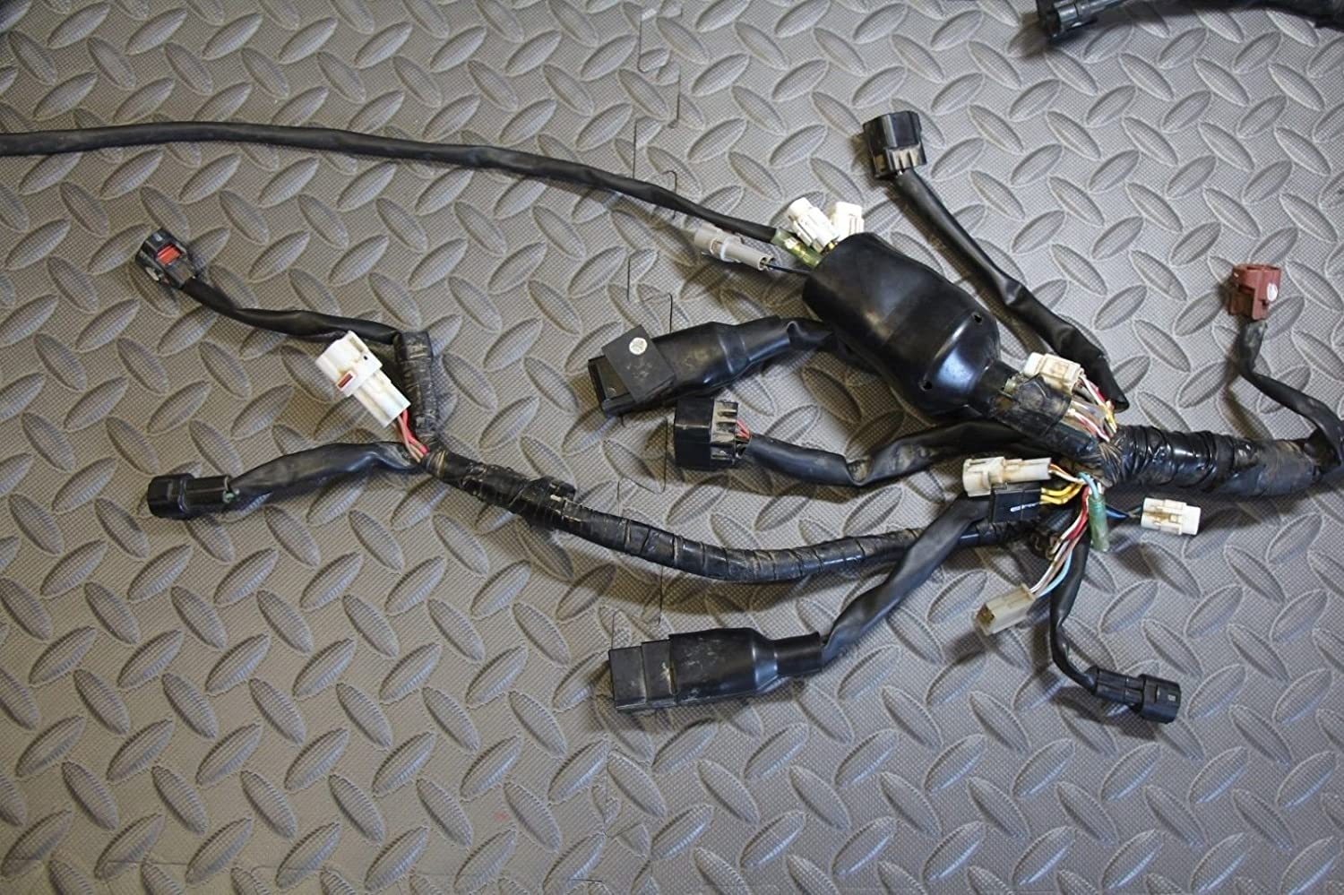 81GelPT91XL._SL1500_ amazon com 2006 2009 yamaha yfz450 complete facotry oem uncut 2006 yfz450 wiring harness at edmiracle.co