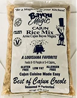 Bayou Magic Mix Cajun Jambalaya 12 oz (Pack de 12): Amazon ...
