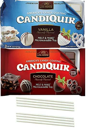 Amazon Com Candiquik Vanilla And Candiquik Chocolate Melting