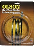 Olson Saw WB55356BL 56-1/8-Inch by 1/4 wide by 6 Teeth Per Inch Band Saw Blade