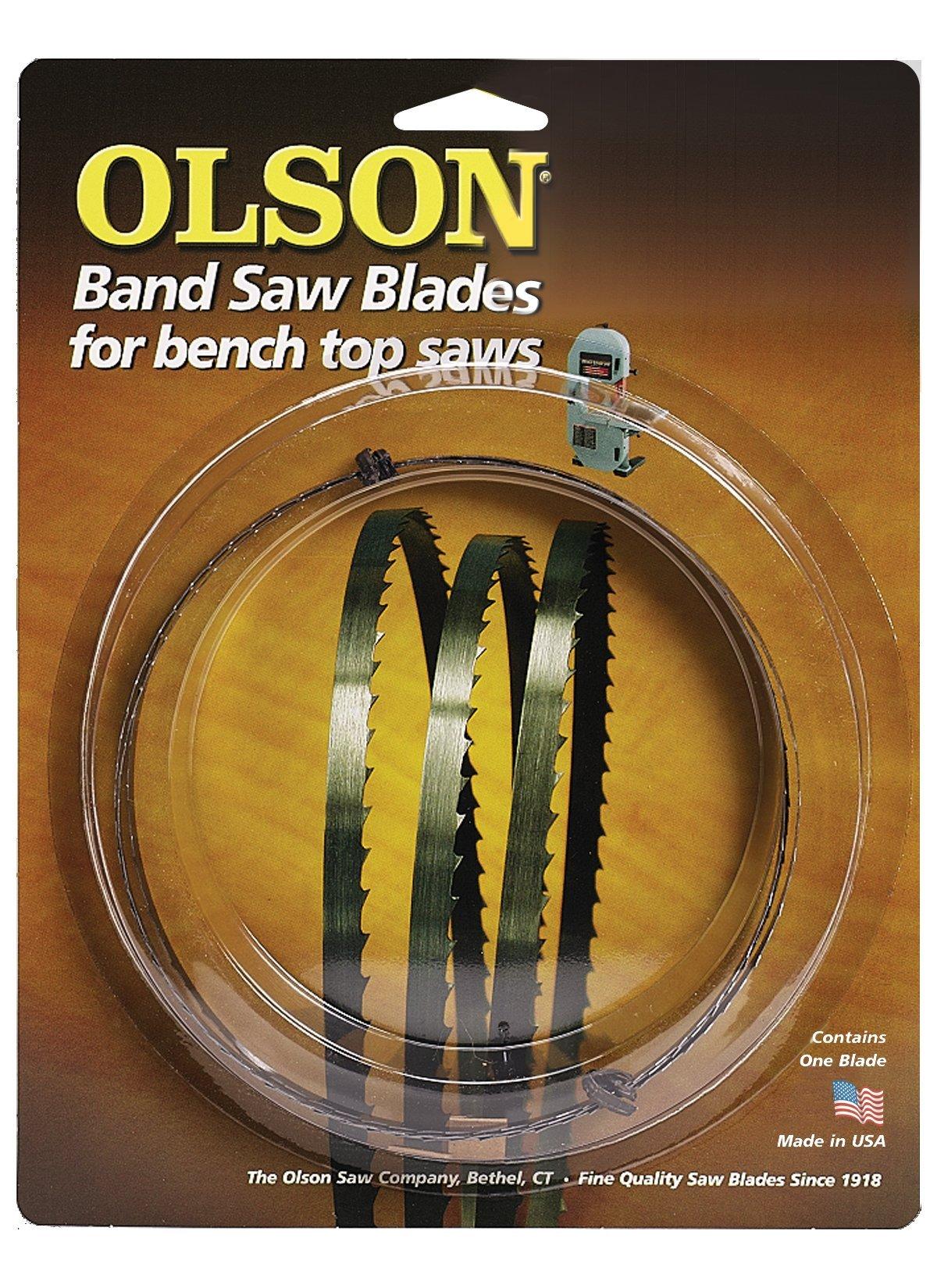 Olson Saw WB57262BL 62-Inch by 3/8 wide by 4 Teeth Per Inch Band Saw Blade by OLSON SAW