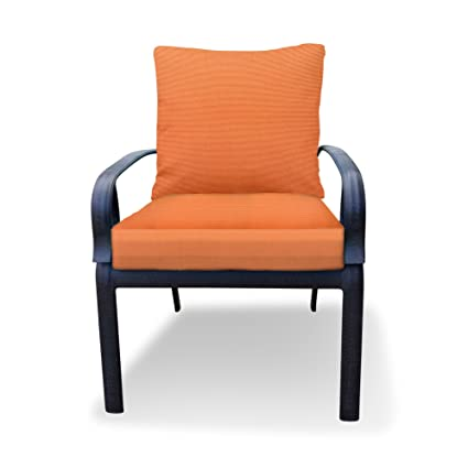 Amazon Com Thomas Collection Outdoor Cushions Tangerine Orange