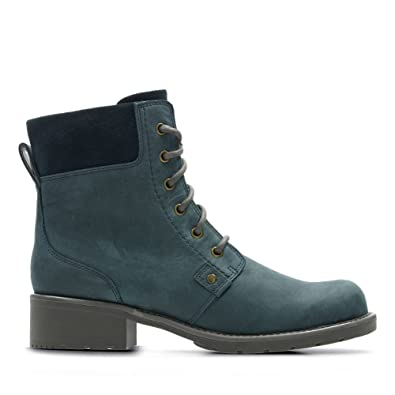 c9f56560ad1 Clarks Orinoco Spice Waxy Nubuck Boots in Blue  Amazon.co.uk  Shoes ...