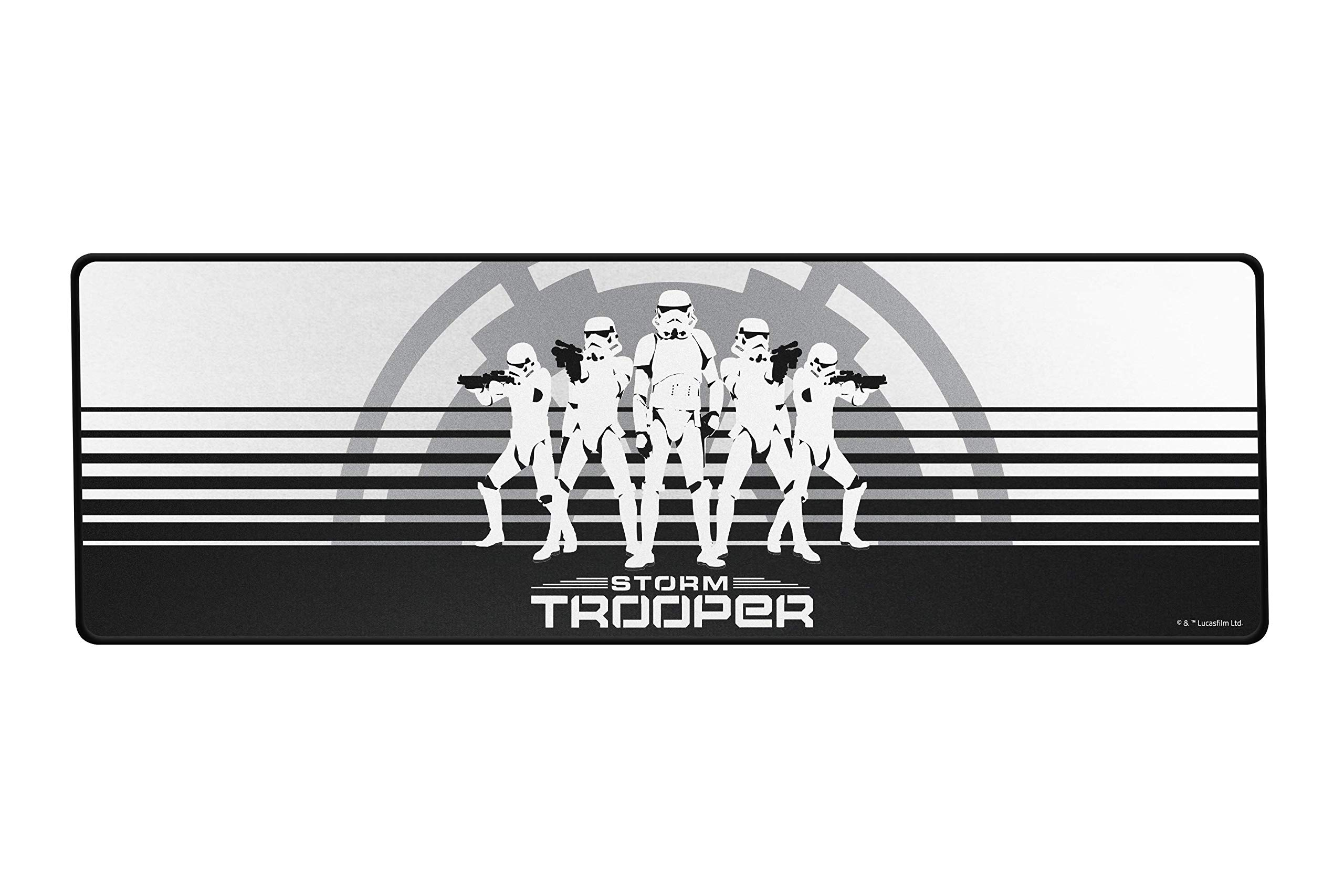 Razer Goliathus Speed (Extended) Gaming Mousepad: Smooth Gaming Mat - Anti-Slip Rubber Base - Portable Cloth Design - Anti-Fraying Stitched Frame - Stormtrooper Limited Edition by Razer
