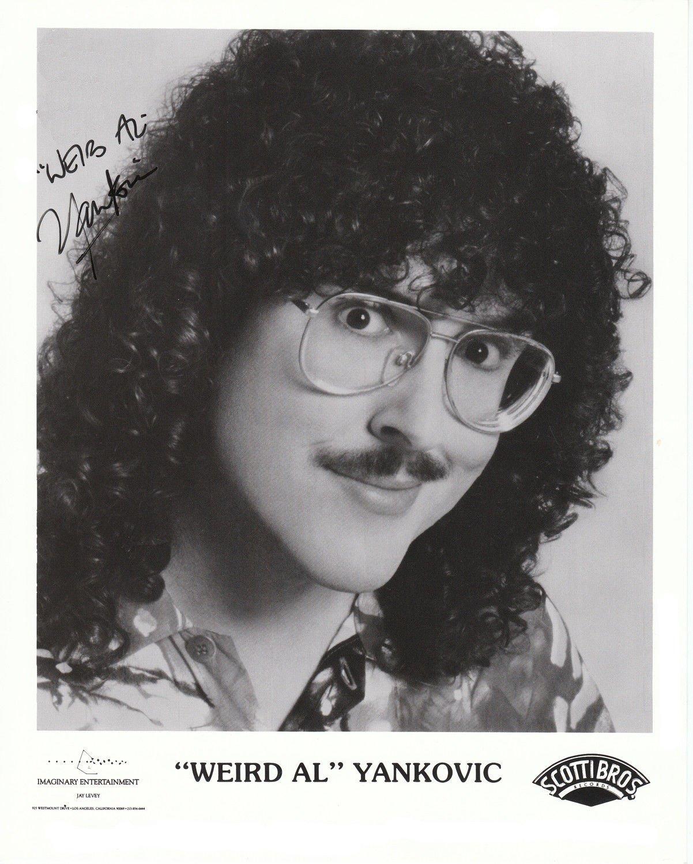 Amazon.com: Weird Al Yankovic 8 x 10 Celebrity Photo Photograph Rare ...