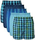 Amazon Price History for:Gildan Men's Woven Boxer Underwear 5 Pack