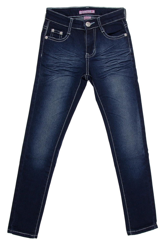 JGP2011B Girls/' Stretch 5 Pockets Basic Premium Skinny Jeans