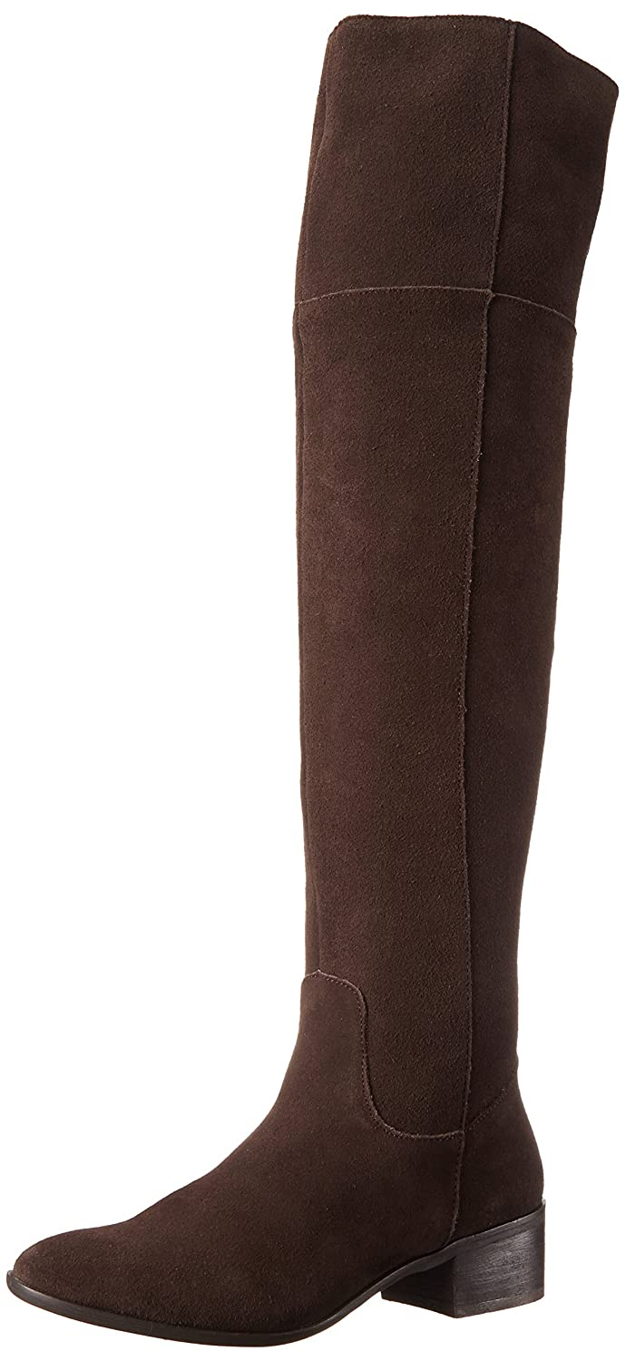 Steve Madden Women's Tyga Motorcycle Boot B00NVM5I24 7.5 M US|Brown Suede