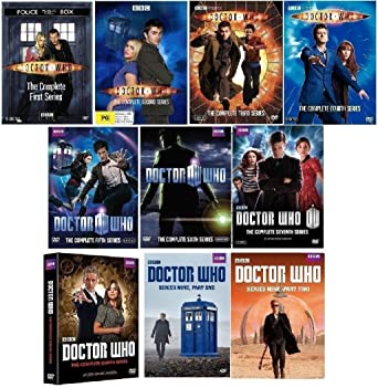 Amazon com: Doctor Who - Complete Collection, DVD (Series Seasons 1