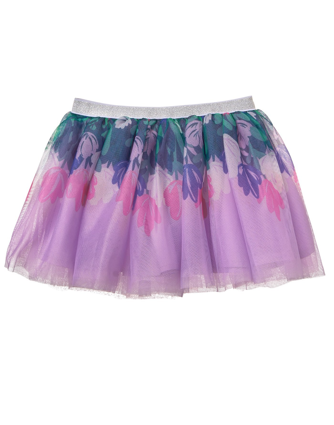 Gymboree Toddler Girls' Her Li'l Tutu Skirt, Floral, 4T